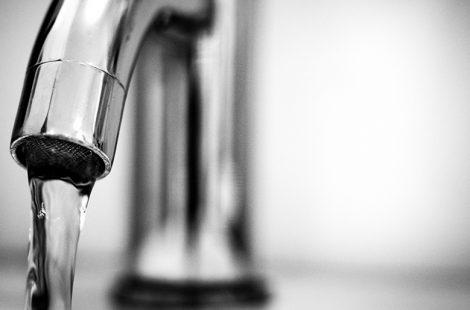 Home's Plumbing Shut Off Valve